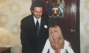 The ex-factor: Michelle Scot Young on their wedding day