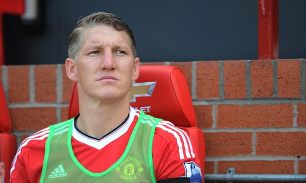 Despite having been banished to the reserves by Manchester United's manager Mourinho, Schweinsteiger vowed to stay and fight for a place at Old Trafford