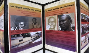 An exhibition depicting the years Chad was ruled by Habré, at the Douta Secke Cultural Centre in Dakar.