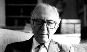 Lord Carrington in 2000. He did not enjoy bearpit politics but was, rather, a natural diplomat.