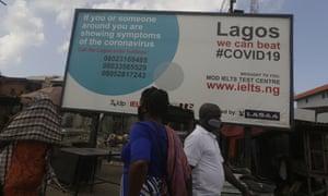 Pedestrians in Lagos