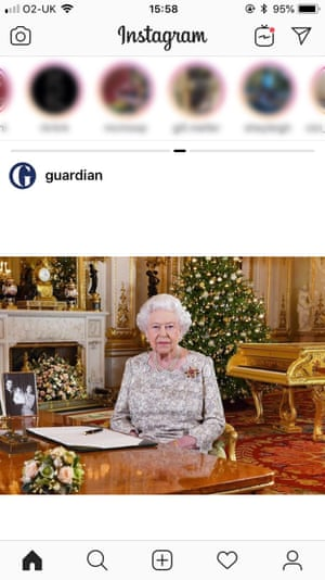 Image on Guardian Instagram account