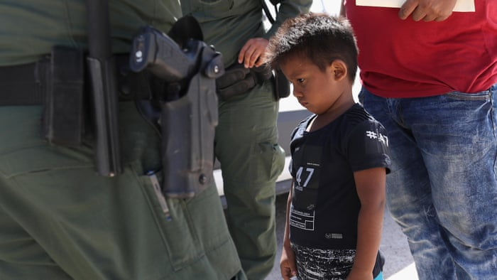 Why are families being separated at the US border?   US news