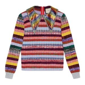 Striped, £1,060, gucci.com