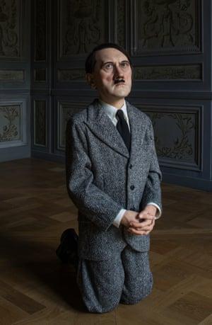 Maurizio Cattelan's Him