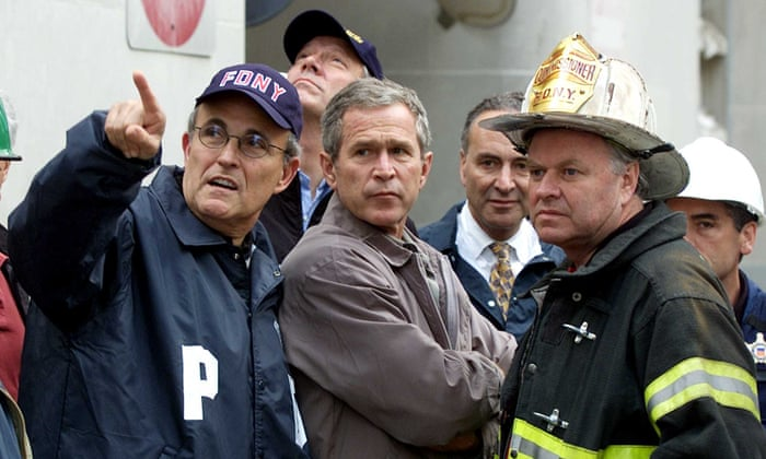 Image result for george bush rubble