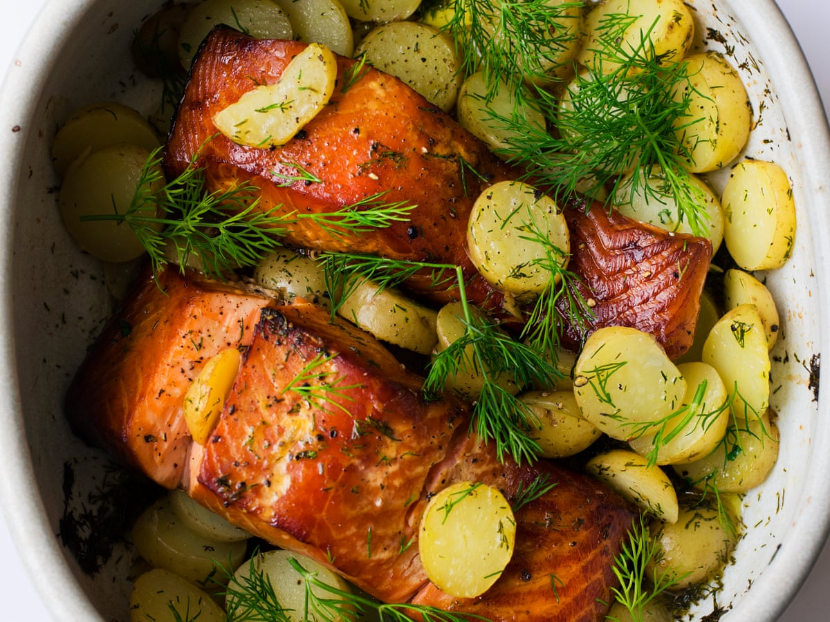 Nigel Slater S Hot Smoked Salmon Potatoes And Dill Recipe Food The Guardian