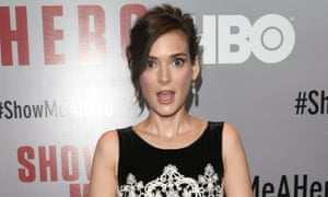 Winona Ryder at HBO's Show Me a Hero premiere in New York.