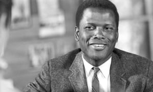 Sidney Poitier on the set of the movie Lilies of the Field, 1963.