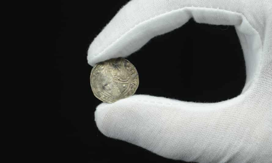 An incredibly rare 900-year-old coin unearthed by an amateur detectorist.