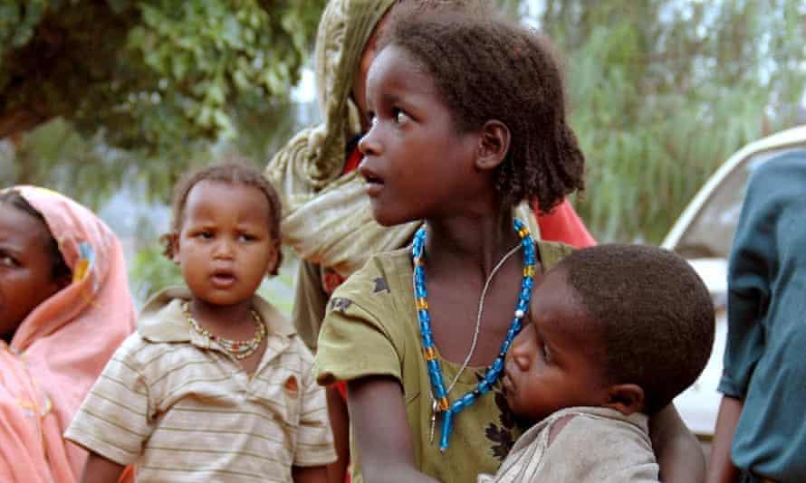 Children in Ethiopia.