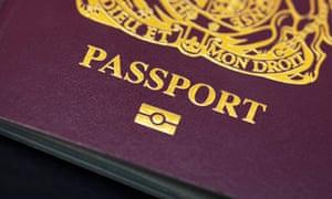 British biometric passport