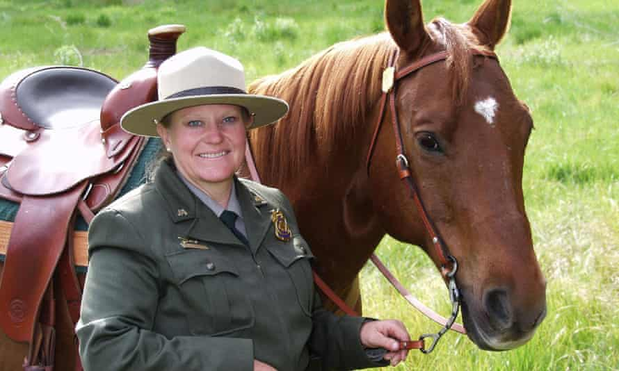 billie patrick with horse