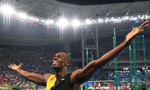 Usain Bolt surges past Justin Gatlin to win historic ...