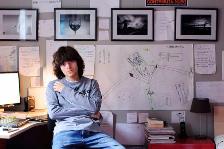 The Ocean Cleanup founder and CEO, Boyan Slat