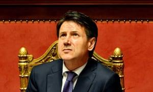 Italy's new prime minister, Giuseppe Conte