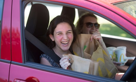 'We missed the sweet and sour sauce': joy as McDonald's drive-throughs reopen