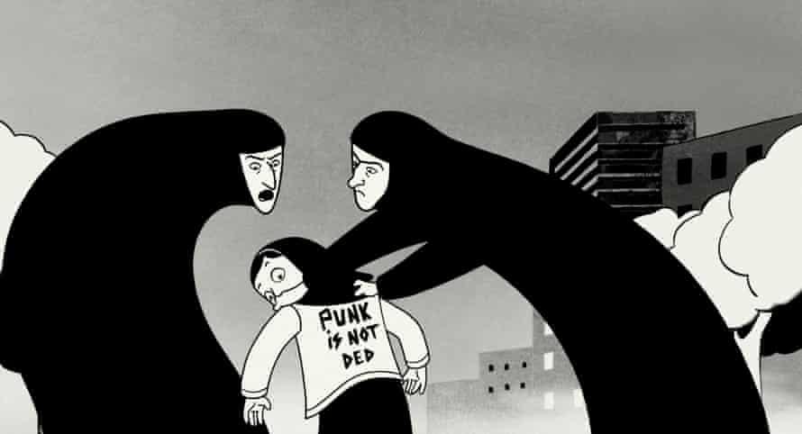 The 2008 film adaptation of Persepolis.
