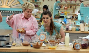 Cracking stuff ... Alice and Sandi in The Great British Bake Off.
