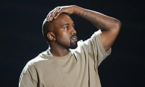 Kanye West at the 2015 MTV VMAs