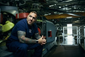 Air Engineer Technician Chris Warner, Royal Navy, 36
