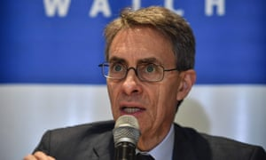 Human Rights Watch executive director Kenneth Roth
