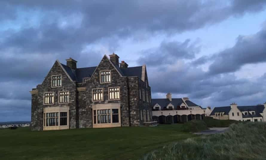 The main building at Trump's golf resort in Doonbeg