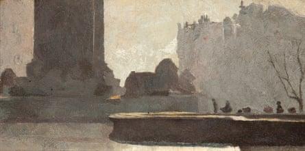 Trafalgar Square, 1904 by Tom Roberts.