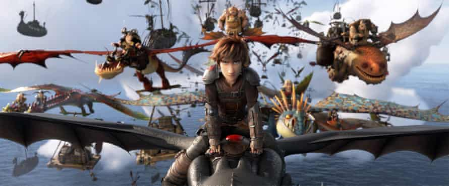 Hiccups in the movie How to Train Your Dragon: The Hidden World.