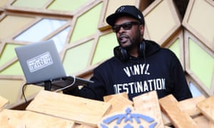 DJ Jazzy Jeff at Lovebox last month: 'Not everything has to be for the club.'