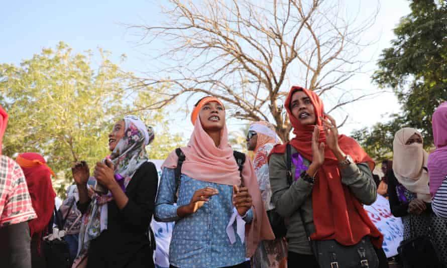 Sudanese women at the launch of a unit to stop violence against women in Khartoum earlier this week.