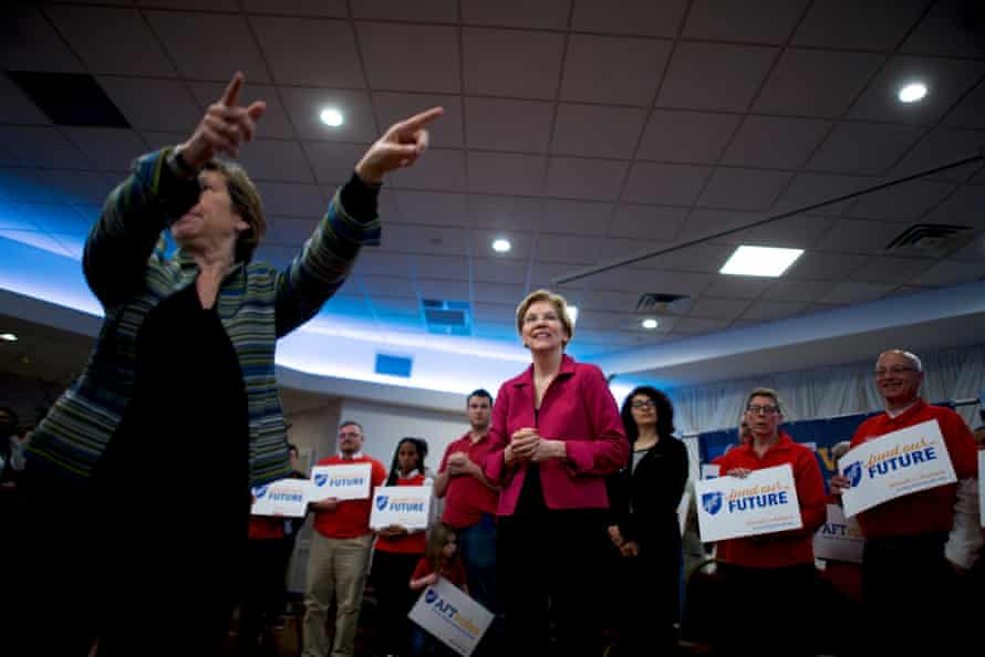 There's a simple reason for Elizabeth Warren's sudden rise in the polls: the public has an appetite for policy.