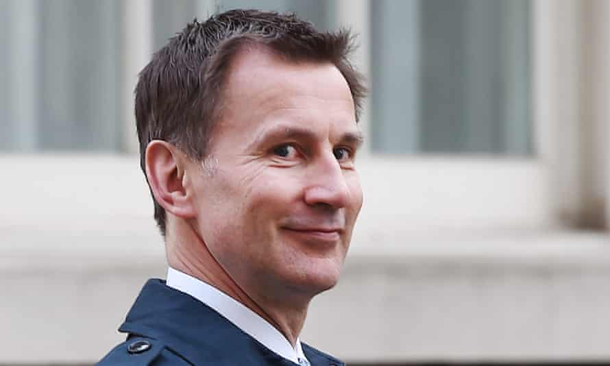 The constituency of cabinet minister Jeremy Hunt is in one of the areas least affected by cuts.