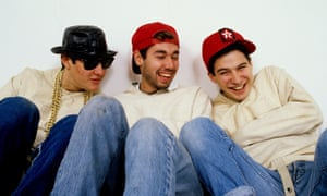 The Beastie Boys in 1987.
