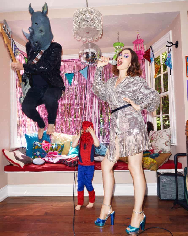 Sophie Ellis-Bextor in her Kitchen Disco.