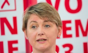 Yvette Cooper speaks during a Labour party Vote Remain event in June 2016