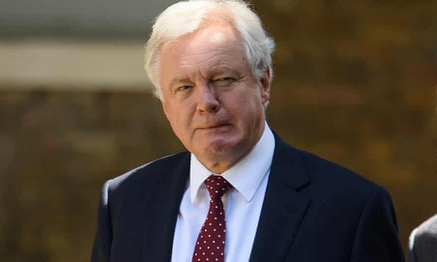 David Davis at Downing Street