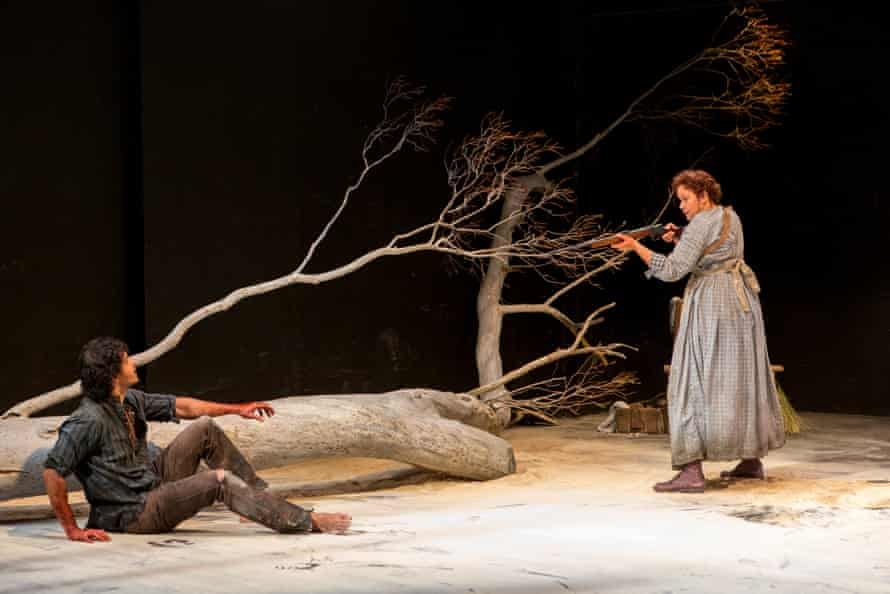 Mark Coles Smith and Leah Purcell in The Drover's Wife