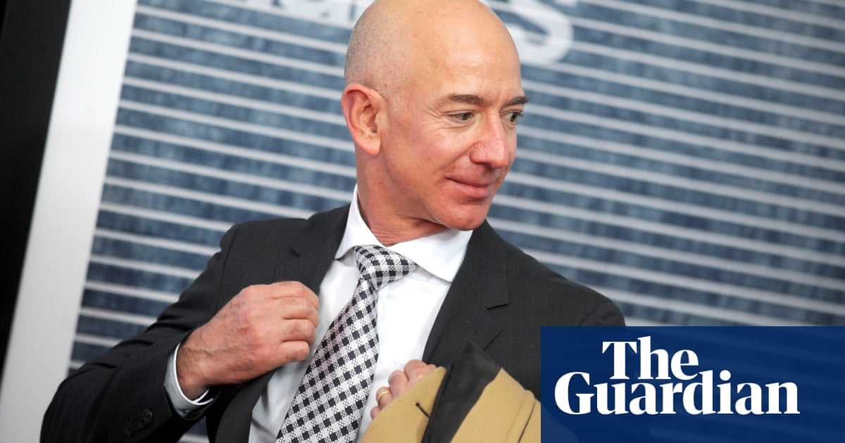 Millionaires who support taxing the rich protest in front of Jeff Bezos's homes