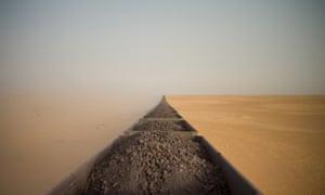 Travel, Adrian Guerin (Australia) for Riding a Saharan Freight Train