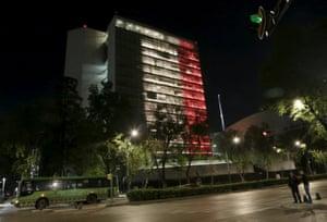 Senate building, Mexico City, Mexico