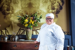 Iris Gisson, pastry chef at EDWINS Leadership & Restaurant Institute in Shaker Heights.