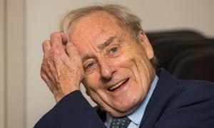 Former Sunday Times editor Harold Evans.