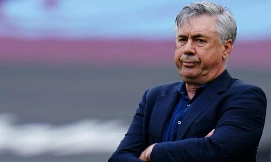 Carlo Ancelotti said: 'The Premier League has to solve different problems than the financial fair play of Everton'