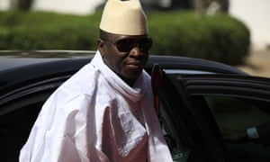 Yahya Jammeh, the Gambia's president