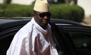 """Gambia's President Yahya Jammeh has ruled for 20 years. On 1 January he blamed unidentified foreign dissidents and """"terrorists"""" for the assault on his presidential palace."""