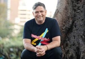 Sydney festival's artistic director, Wesley Enoch.