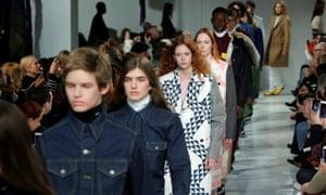 Calvin Klein AW 2017, New York fashion week.
