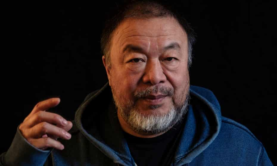 Ai Weiwei, photographed on 2 February in his Berlin studio.