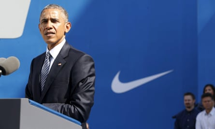 barack obama nike free trade tpp